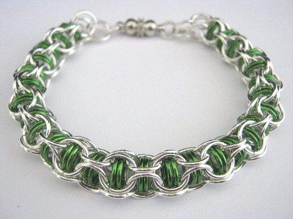 Poet Chainmaille Bracelet
