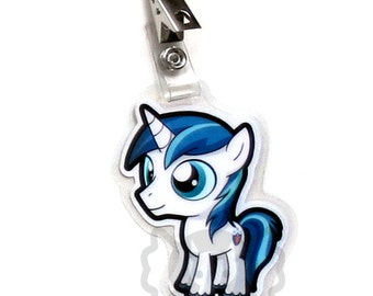Shining Armor Chibi Badge