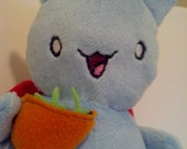Catbug Plush with Sugarpeas Accessory - READ DESCRIPTION