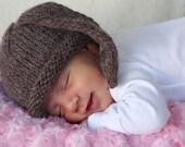 Bunny kids hat newborn photo prop ears hat baby hat