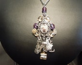 Clockwork Princess Inspired Charm Necklace