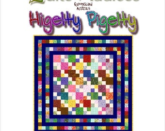 HIGELTY PIGELTY - Quilt-Addicts Patchwork Quilt Pattern