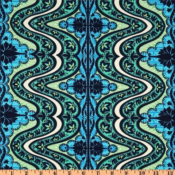 Amy Butler - Lark - Gypsy Cobalt - 1/2 Yard