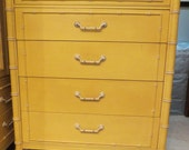 Faux Bamboo Chest of Drawers-Thomasville