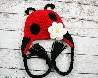 Ladybug Hat Photography Prop Shower Gift
