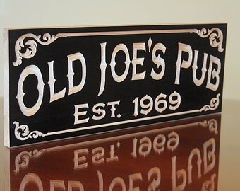 Craft Beer Sign, Custom Bar Signs, Personalized Pub Sign, Guy Gift, Custom Beer Sign, Custom Pub Sign, Benchmark Signs, Maple OJ