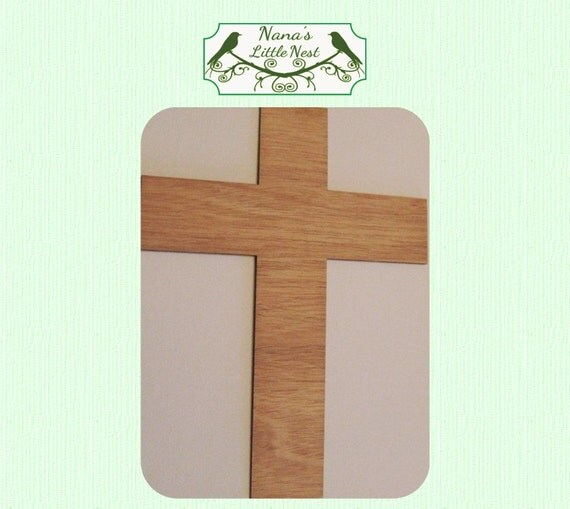 Traditional Cross Wood Cut Out - Laser Cut