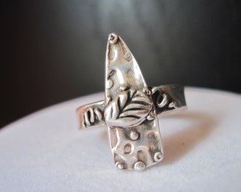 Arrowhead Ring Sterling Silver Size 7 Handcrafted