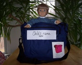 American Girl Project Tote or Craft Storage Tote