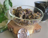 Sweet Melissae Sacred Bee Handmade Incense for honoring the bees, your garden, and home with Rose, Lavender, Honey Kyphi
