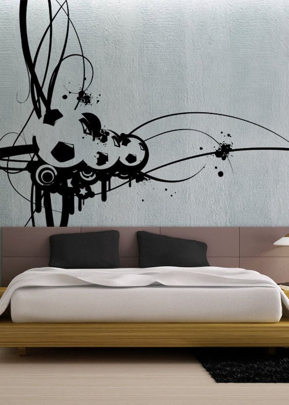 Modern Soccer Uber Decals Wall Decal Vinyl Decor Art Sticker