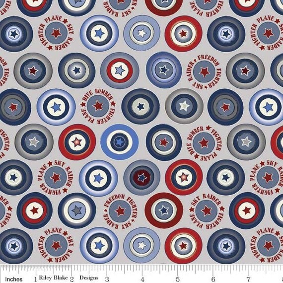 for rachael maverick collection cotton airplane print fabric