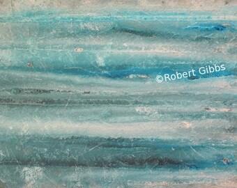 Abstract Ocean Painting, Original Abstract Art, Home Decor, Wall Art, Blue Green