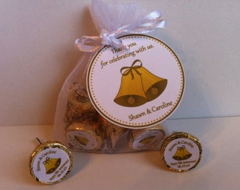 50th Anniversary Favor Bag Set - Wedding Anniversary Favor - Golden Anniversary Favors