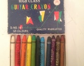 Vintage Japanese High Class Guitar Crayons