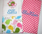 Set of 2 Burp Cloths