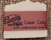 Cabin Cozy with Cedarwood and Fir Soap