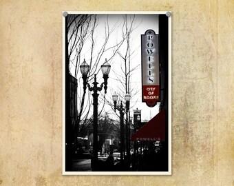 Portland Oregon Photography Powell's Books--Fine Art Photography 8x12