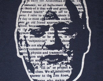 Robert Anton Wilson T-Shirt by Jim Wallace