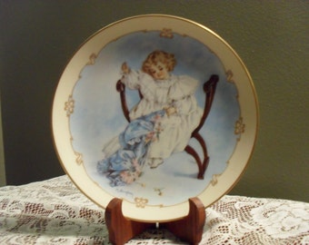 The Seamstress  Plate by The Hamilton Collection