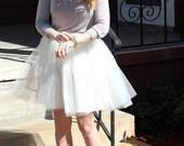 Mollie - Custom Hand-made Ladies Tulle Skirt
