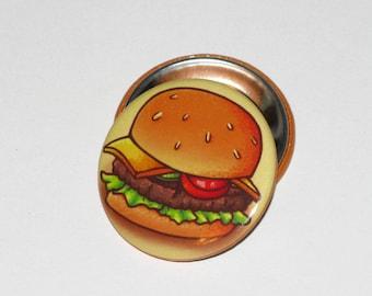 Cheeseburger 1.5 inch Button