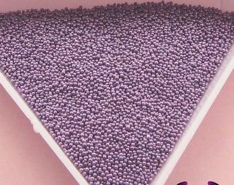 MICRO MARBLES Lavender Purple  Half Ounce / 14 grams caviar microbead miniature kawaii fake sprinkles