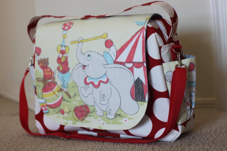 Disney Dumbo Diaper Bag Shoulder And Messenger Bag