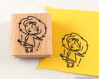 50% OFF SALE It Rains Rubber Stamp