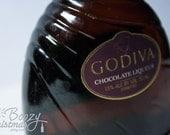 Godiva Liqueur Ornament-- Godiva Chocolate Liqueur Themed Christmas Tree Ornament.