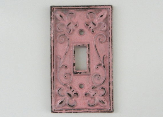 Painted Light Switch Plates Flower