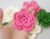 Crochet Flowers, table decorations, tree decorations, handmade flower, Gifts, flowers, christmas decorations, home decor. handmade flowers