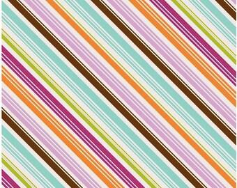 Matryoshka Stripes Multi 1 yard cut Riley Blake Designs