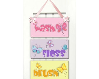 Popular items for girl bathroom decor on Etsy