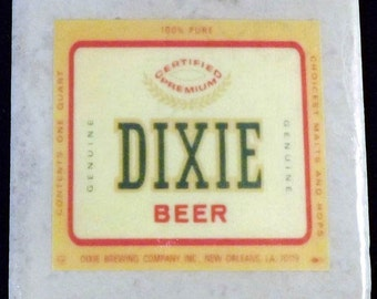 Dixie Beer Coaster New Orleans