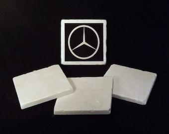 Mercedes Benz Car Logo Coaster
