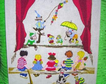Paragon Crewel Embrodery ....  .....National Paragon Corp.....Hello Crewel World..... Children's Wall Decor