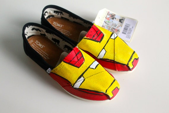 Iron man (Or Other Avengers) Custom Toms