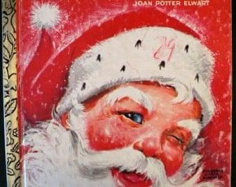 vintage Christmas ... SANTA SUPRRISE BOOK Golden Book 1976 ...