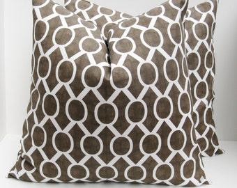 Brown Pillow - Throw Pillow covers - Brown Pillow cover - Decorative Pillows - Decorative Pillow cover - Brown Pillows - Accent Pillows