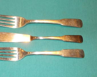 Three (3), Silver Plated Flatware Pieces, from International Silver, in the Beacon Hill Pattern.