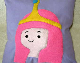 Adventure Time inspired Appliqued Handmade Cushions Pillows