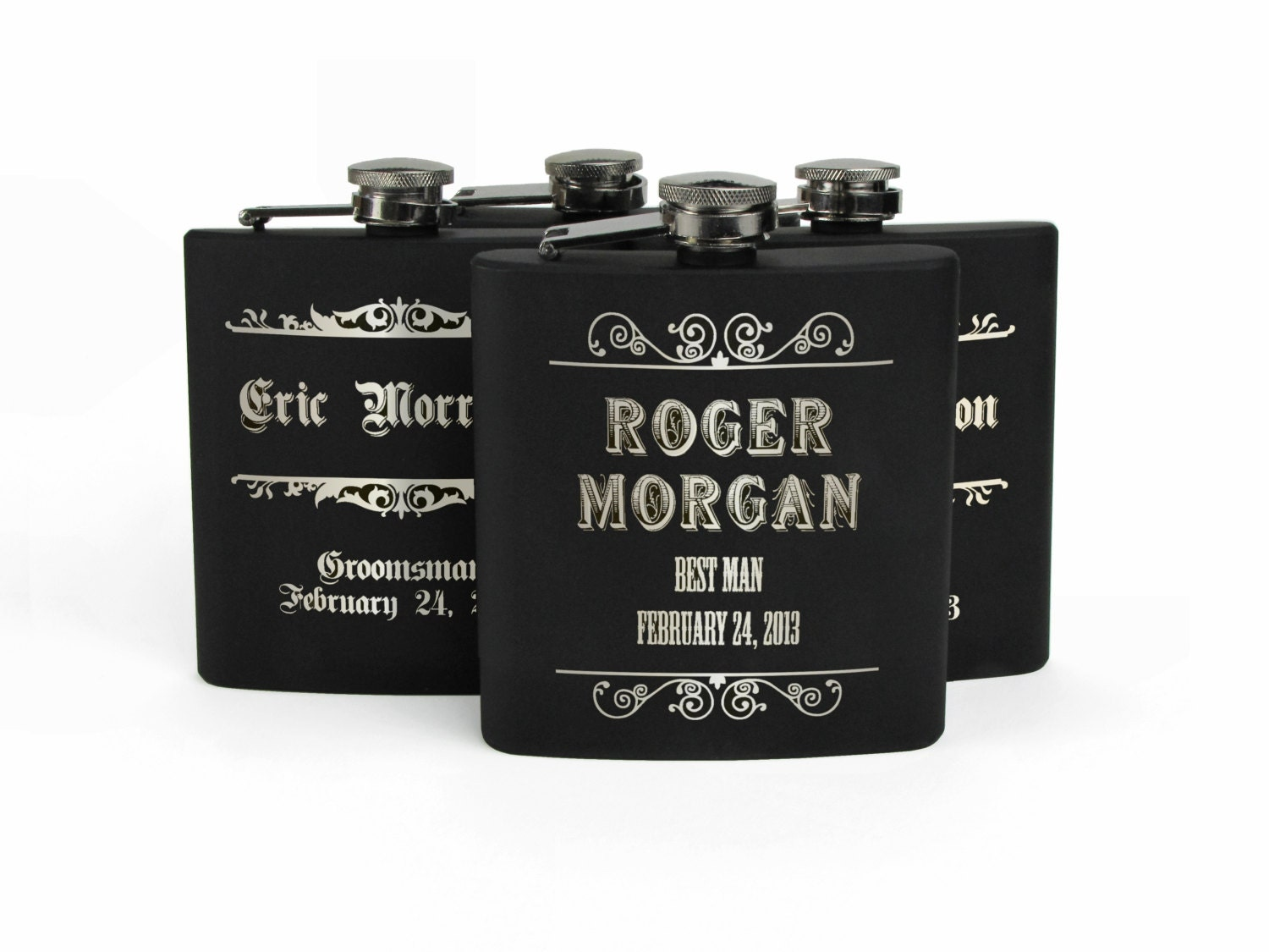 Personalized Groomsmen Gifts Best Man Gift Stainless Steel