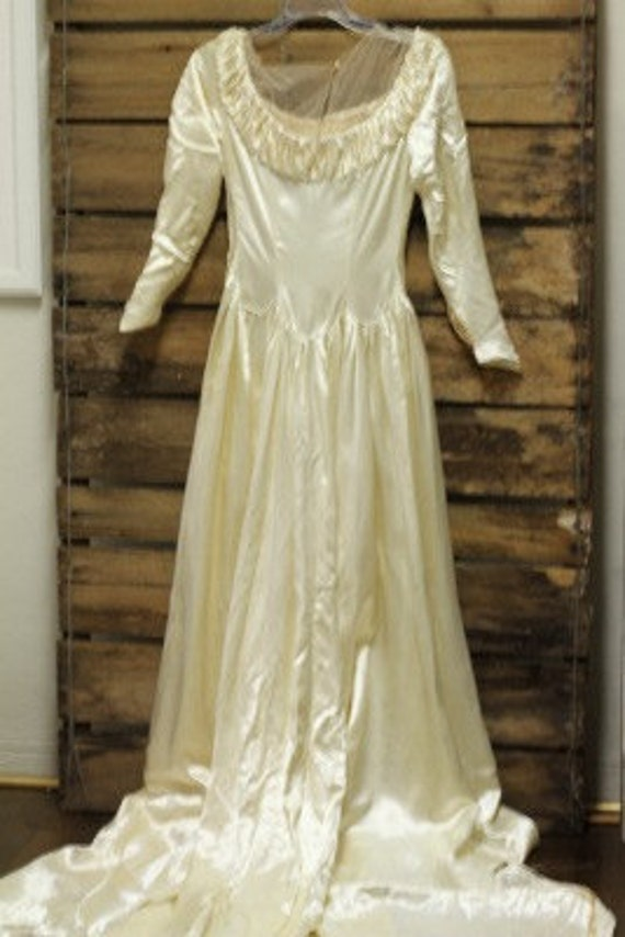 Vintage 1930 1940 lord and taylor wedding gown for Lord and taylor dresses for weddings