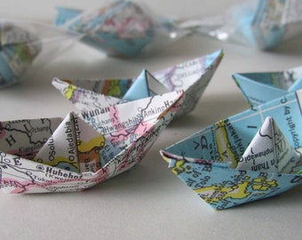 how to make 3d origami boat