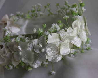 floral or flower crown for flower girls, brides maids or bride