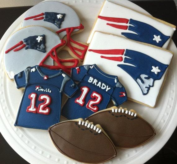 Items Similar To New England Patriots Football Decorated