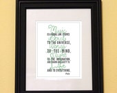 Inspirational Quote-Music Quote-Plato-Music-Music Lover-Type Quote-Text Art-Typography-Printed and Ready To Frame-5x7 Print