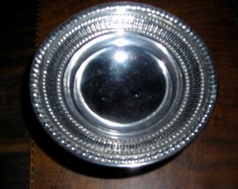 Wallace Sterling Sliver Pedestal Candy Dish