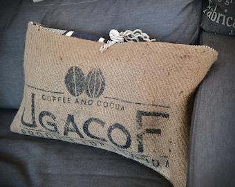 Cushion coffee sack, jute